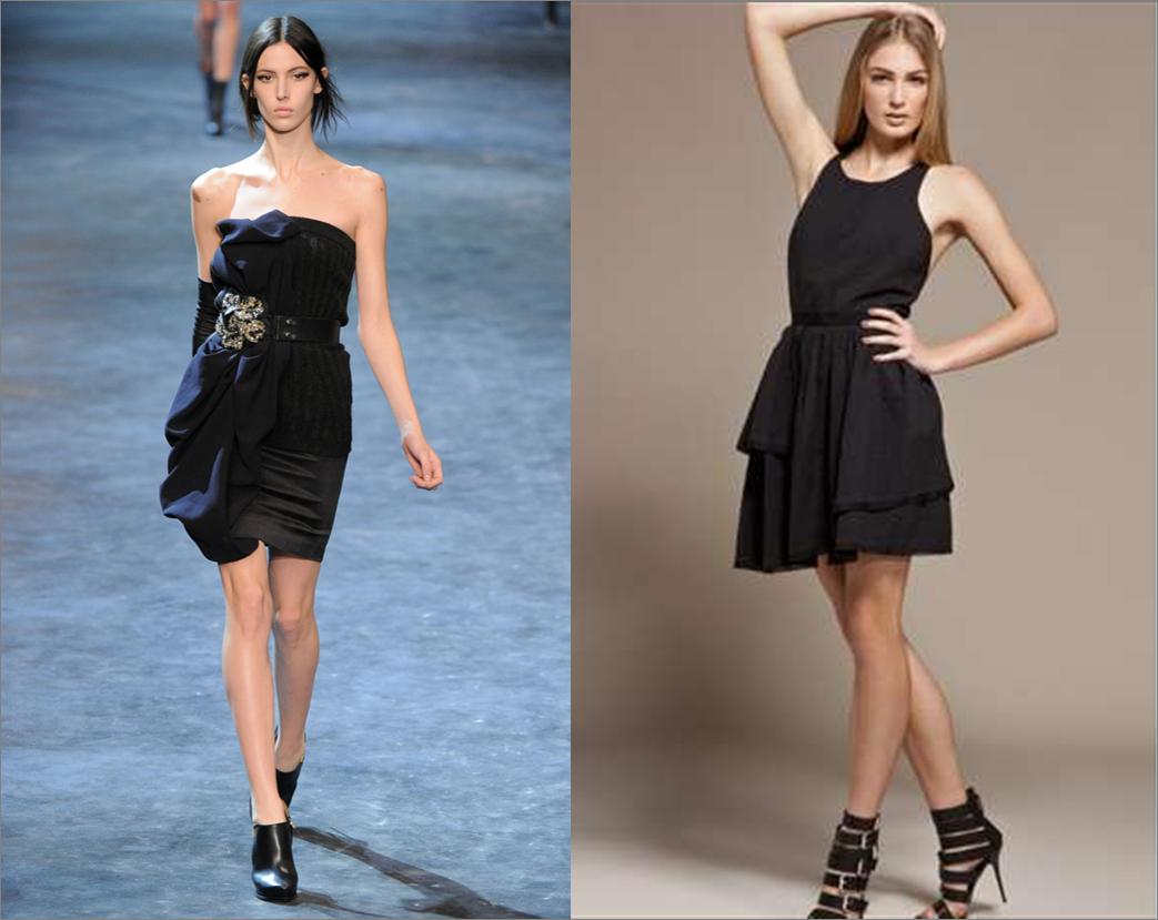 Vestidos cortos para mujeres con caderas anchas