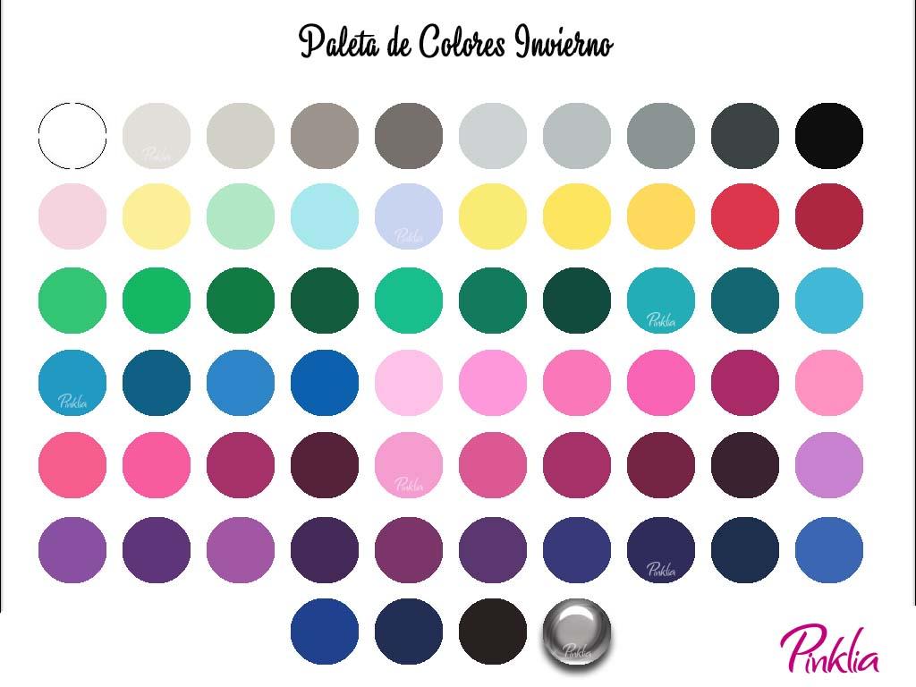 Colores para mujeres de estaci n invierno pinklia tu portal favorito para lucir bella y unica - Paleta cromatica de colores ...