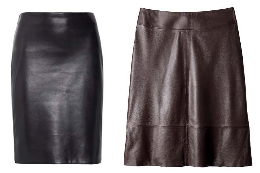 Faldas cuero 1