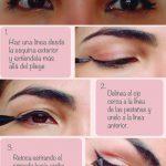 Como delinear ojos caídos