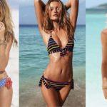 Cuerpo rectangular: tips para lucir un bikini