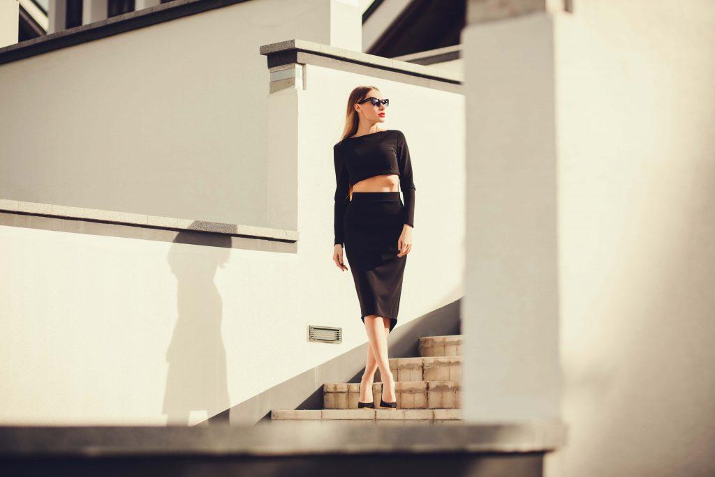 falda-lapiz-casual