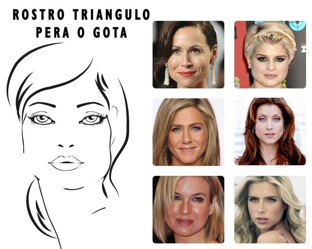 Cortes de pelo con rostro triangular