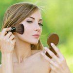 Maquillaje para mujeres de primavera clara
