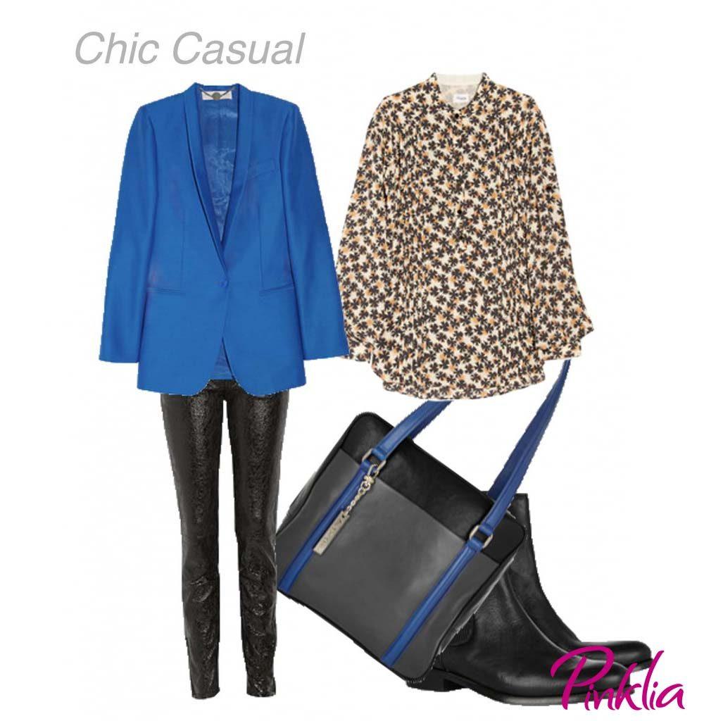 Como usar un blazer azul | Pinklia | Tu portal favorito para lucir ...