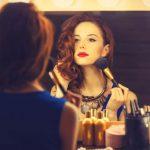 Maquillaje para mujeres de primavera brillante