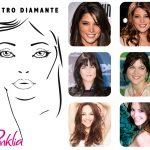 Mejores cortes de pelo para forma de cara diamante