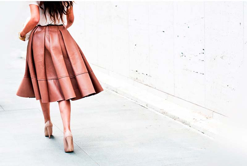 65dd20f5d Falda debajo de la rodilla: Tips para lucirla | Pinklia | Tu portal ...