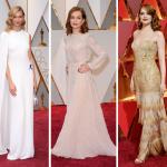 Moda en los premios Óscar 2017